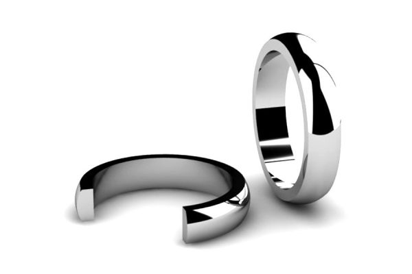 Barrel Section Wedding Ring Designs by Robert Feather Jewellery