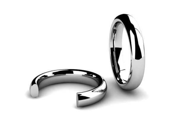 Court Section Wedding Ring Designs by Robert Feather Jewellery